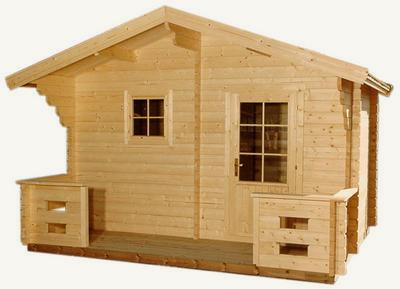 Custom built sauna