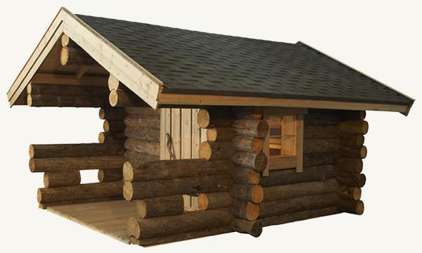 Sauna extérieur Kelo