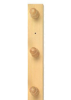 3 Peg Wooden Towel Rack