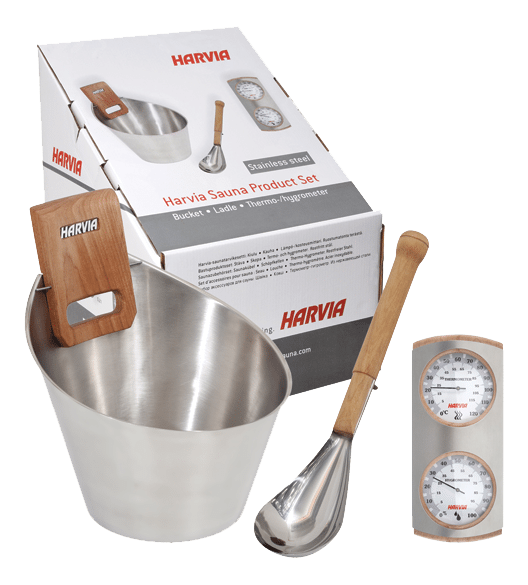 Harvia steel accessories set