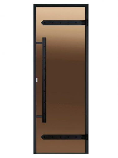 Legend glass doors with aluminium frame for steam sauna
