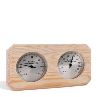 Sawo Combo Thermometer and Hygrometer Aspen