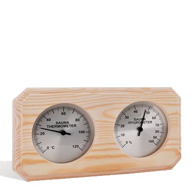 Sawo Combo Thermometer and Hygrometer Aspen